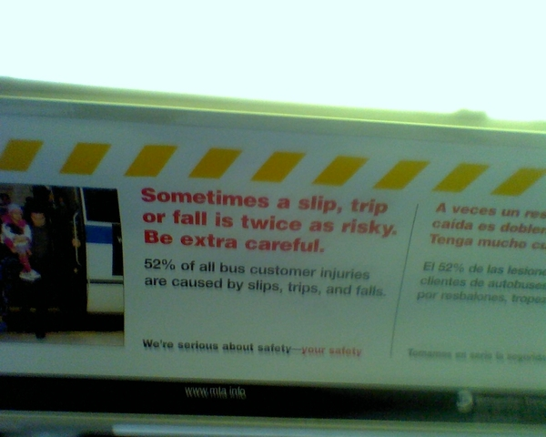 New York City, MTA Bus, poster